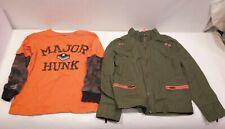 Lot Genuine Kids OshKosh 5T Jacket & Carter Long Sleeve Shirt