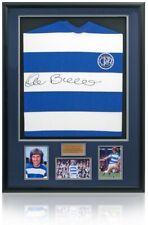 Stan Bowles Hand Signed QPR Queens Park Rangers Replica Shirt Photo COA