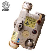 FMA justiciero LA5-C Batería Caja Blanco Led + Laser Rojo Lentes ir versión de actualización militar