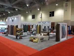 TRADE SHOW EXHIBIT LARGE SHOWCASE DISPLAY HEAVY DUTY MADE USED ONCE