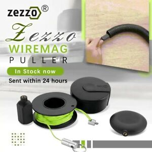Zezzo Wiremag Puller Magnetic Snap Wire Guider Convenient Wire Cable