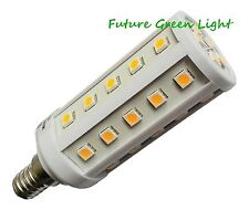 E14 SES 35 SMD LED 240V 6.5W 530LM DIMMABLE WHITE CORN BULB ~60W
