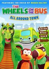 The Wheels on the Bus: All Around Town (DVD, 2013) *Library Copy*