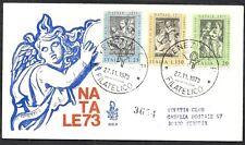 1973 ITALIA FDC VENETIA 360 NATALE TIMBRO DI ARRIVO - 6575