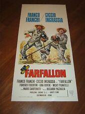 LOCANDINA, S/5, FARFALLON FRANCO FRANCHI CICCIO INGRASSIA