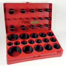 407 pc O-Ring Assortment Set Seal Gasket SAE Rubber ORing Kit