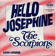 7inch THE SCORPIONS hello josephine HOLLAND  1975 EX  (S0842)