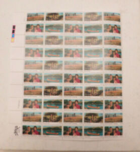 SCOTT # 2160-2163 YMCA,BOYSCOUTS, BIG BROTHER-SISTER, CAMP FIRE FULL SHEET
