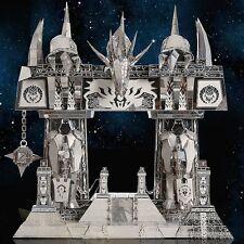 3D Metal Puzzle DIY Model Dark Portal Black Gray Silver Yellow P158 S