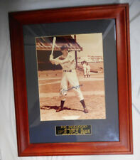 #BT.     FRAMED BASEBALL PHOTO JOE DiMAGGIO - AUTOGRAPHED