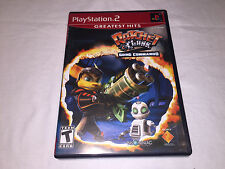 Ratchet & Clank: Going Commando (Playstation PS2) GH Complete Vr Nice!