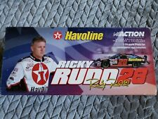 ACTION-#28 Ford Taurus texaco havoline Ricky rudd action nascar 2001 1/24