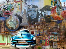 CUBAN ART #227**Alberto Lopez**Havana Club II**30x40 SIGNED ON CANVAS