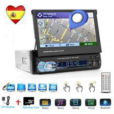 """2 Din FM Radio de coche 7"""" HD Pantalla Reproductor DVD GPS Bluetooth SD USB 2.0"""
