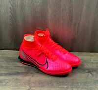 Nike Superfly 7 Elite Soccer Cleats  Size 8.5 IC Indoor Court Red (AT7982-606)