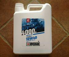 Huile quad ATV 4000 RS 10 w 40 Ipone 4 litres