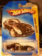 Hot Wheels Ferrari 250 GTO 2009 New Models Black