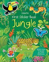 First Sticker Book Jungle-USBORNE