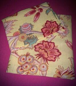 Tissu Art Déco indienne H 120 cm x 80 cm et H 56 cm x  larg 80 cm réf A912