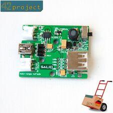 Solar 5V Lademodul Lithium charger für LiPo LiIon 18650 Akku autark USB Arduino