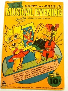 Tippy Top Toy Musical Evening Hoppy and Millie 1944 Miracle Toy No.3