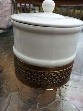 Avon Porcelain Container White Gold Lid Seals EUC