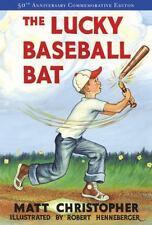 The Lucky Baseball Bat  Matt Christopher 2004 Paperback