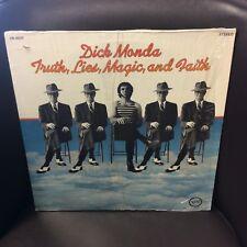 Dick Manda Truth, Lies, Magic, and Faith LP Verve VG+ Hit:Rivers End