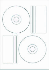 Vinyl Gloss printable cd labels 20 labels