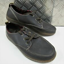 Dr Martens TED Boating Leather Shoes - Air Cushion Loafer Water-Resistant UK 12
