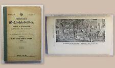 Brunn Mühlhäuser Geschichtsblätter Jg 8 1907 Ortskunde Geschichte Thüringen xz
