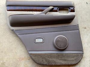 1996 1997  LEXUS LX450  DRIVER LEFT REAR DOOR PANEL LEATHER BROWN/BEIGE