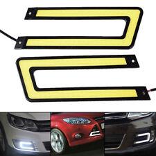Universal Car COB LED Daytime Running Light DRL Auto Headlight Fog Lamp DC 12V