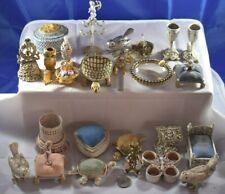 23 Florenza Vanity Items Poodles Boxes Velvet Items Candleholders Birds All $25