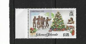 1995 Solomon Islands - Christmas Issue - Single Stamp - MNH..