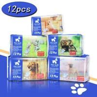 Pet Disposable Female Puppy Dog Diaper,12Pcs,XXS--XL