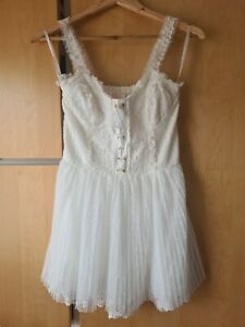 Liz Lisa mini lace dress white size xs