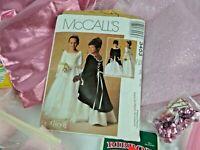 McCall's Alicyn Girls Sz 8 Dress Pattern Fabric & Notions Renaissance Dress NEW