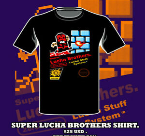 Penta Zero M shirt Super lucha bros Nintendo