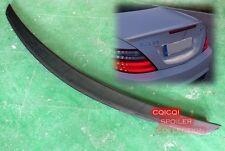 Carbon Fiber MERCEDES BENZ 2012~2016 R172 SLK AMG type trunk spoiler @US