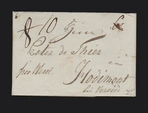 Vorphilabrief von Leipzig 1795 gelaufen