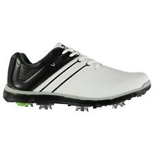 Slazenger Mens V100 Golf Shoes Training Sports Spiked Trainers Sneakers