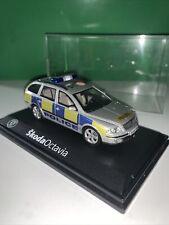 1.43 Abrex Skoda Octavia Police Code 3 Mint Condition