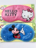 Women Girl Hello Kitty Mickey Mouse Travel rest Sleeping Eye Mask Cover Eyeshade