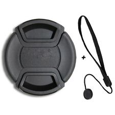 Objektivdeckel 58mm & Halter für Nikon AF-S 50mm 1.4 & 1.8 LUMOS OBJEKTIV Kappe