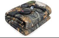 Sojoy Electric Car Blanket 12V Heated Blanket Washable Hi/Lo Temp-Camouflage