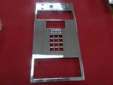 New Chrome Faceplate for Quadrum Gte Payphones Payphone Pay phone Palco Protel