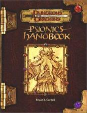 Psionics Handbook [Dungeons & Dragons d20 3.0 Fantasy Roleplaying]
