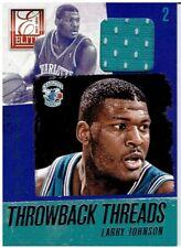Larry Johnson 2013-14 Elite Throwback Threads #26
