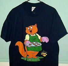 Rare 90's Vintage Paw Island Ria Toy Promo T-Shirt - Large-Hanes- Single Stitch